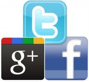 google-facebook-twitter